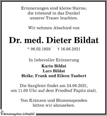Dieter Bildat