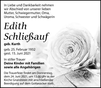 Edith Schließauf