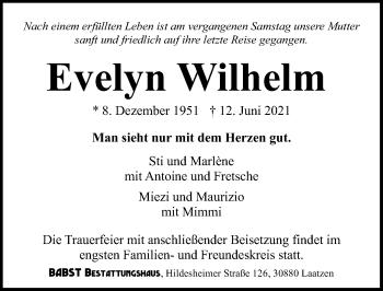 Evelyn Wilhelm