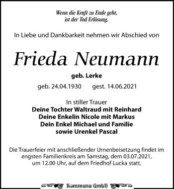 Frieda Neumann