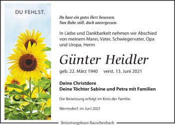 Günter Heidler