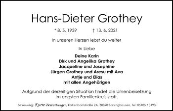 Hans-Dieter Grothey
