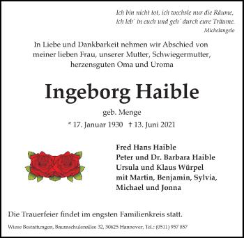 Ingeborg Haible