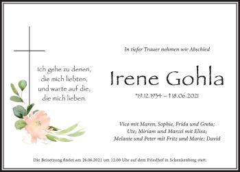 Irene Gohla