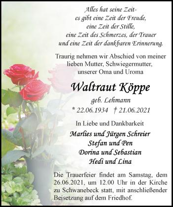 Waltraut Köppe