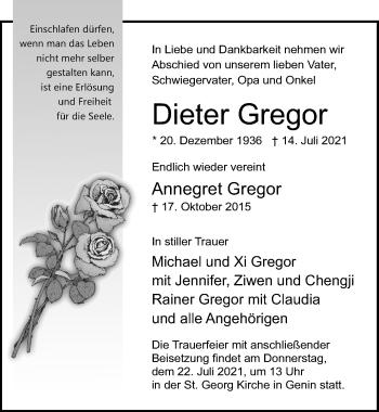 Dieter Gregor