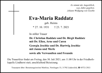 Eva-Maria Raddatz