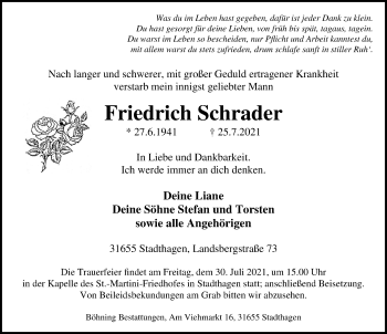 Friedrich Schrader