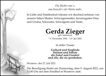 Gerda Zieger