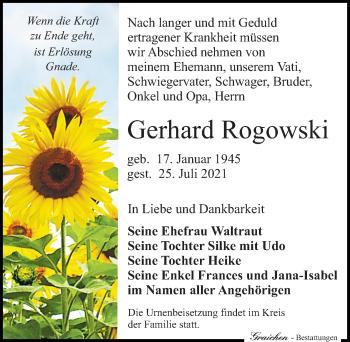Gerhard Rogowski