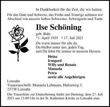 Ilse Schöning
