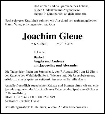 Joachim Gleue