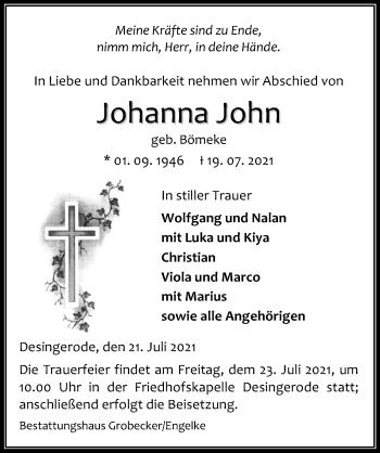 Johanna John