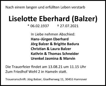 Liselotte Eberhard