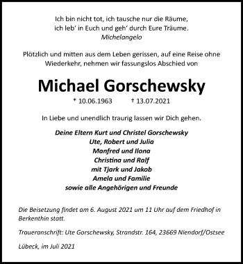 Michael Gorschewsky