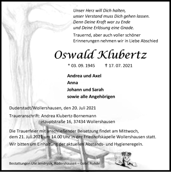 Oswald Klubertz