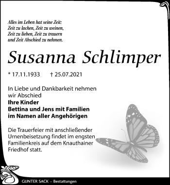 Susanna Schlimper