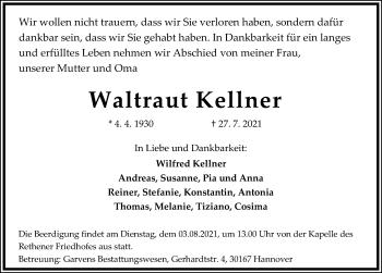Waltraut Kellner