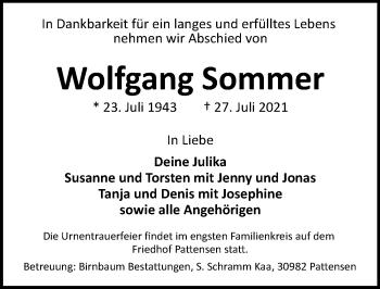 Wolfgang Sommer