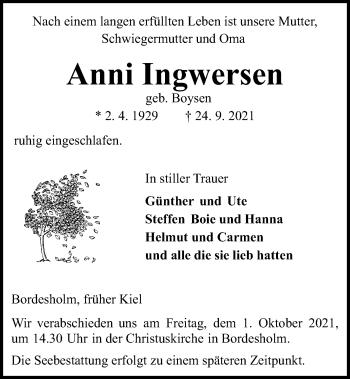 Anni Ingwersen