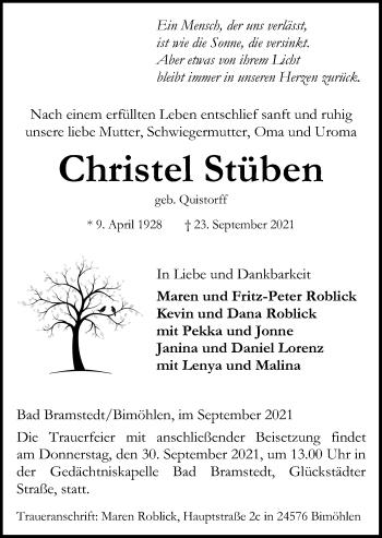 Christel Stüben