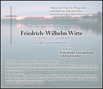 Friedrich-Wilhelm Witte