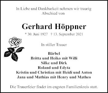 Gerhard Höppner