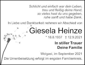 Giesela Heinze