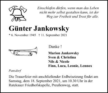 Günter Jankowsky