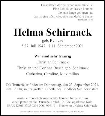 Helma Schirnack