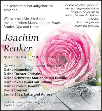 Joachim Renker