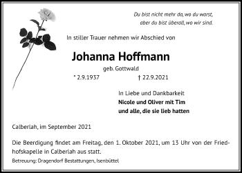 Johanna Hoffmann