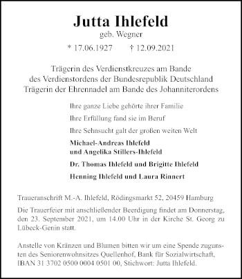 Jutta Ihlefeld