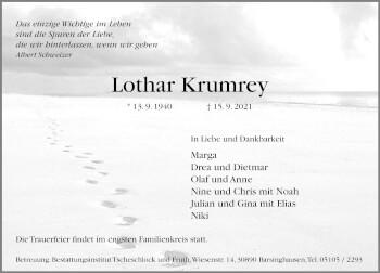 Lothar Krumrey