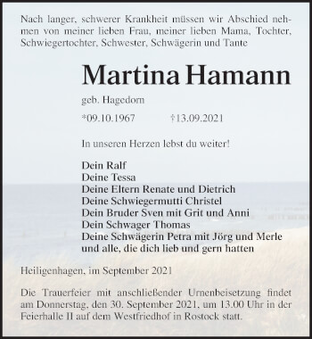 Martina Hamann