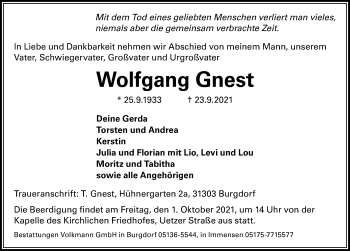 Wolfgang Gnest