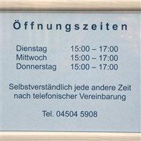 Öffnungszeiten Büro Ratekau